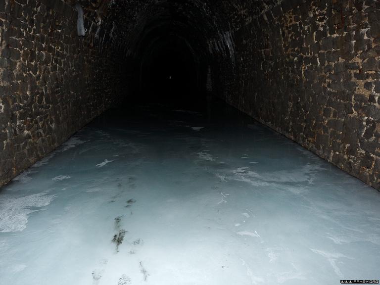 дидинский тоннель ледник