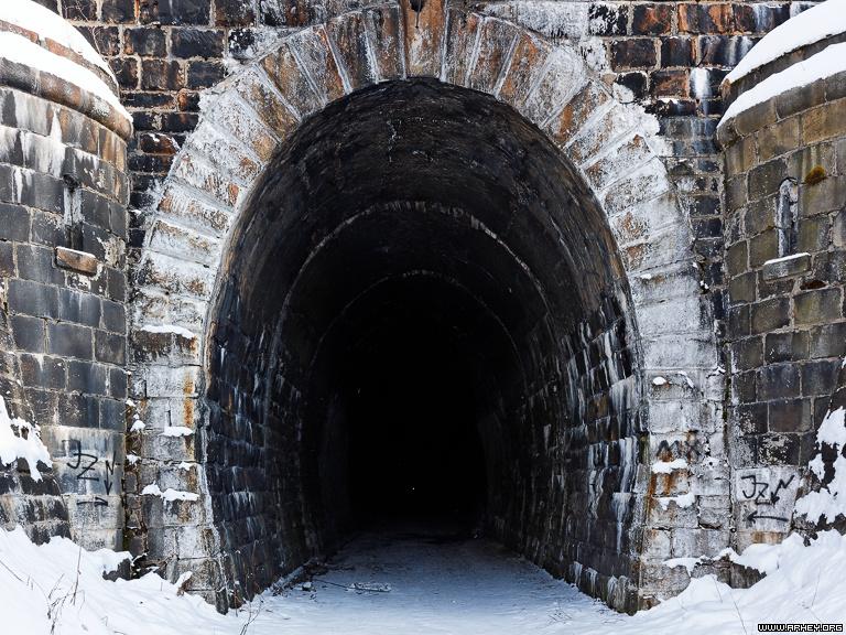 дидинский тоннель западный вход
