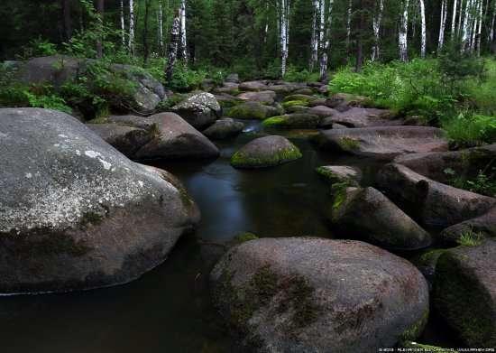 Река Северка, Соколиный камень