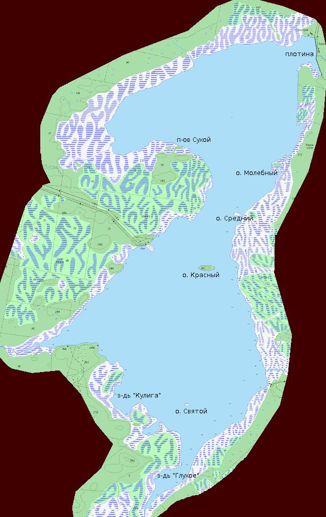 Аятское- карта