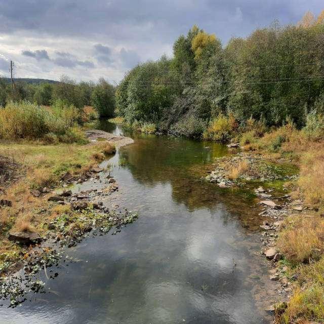 река Еманзелга