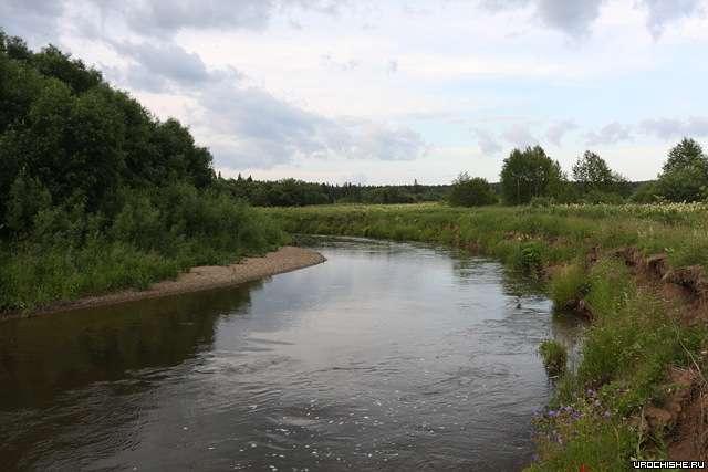 """Ловля хариуса на малых реках- """"большая"""" малая река"""