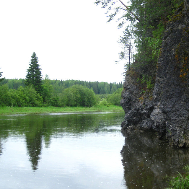река Межевая Утка