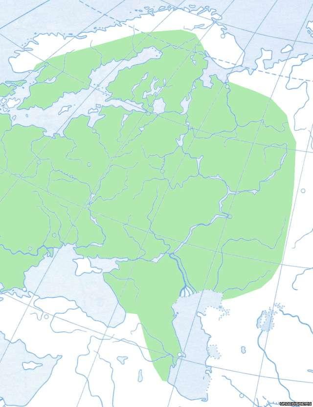 Уклейка- ареал обитания