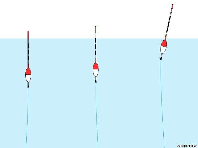 поплавок с длинной антенной