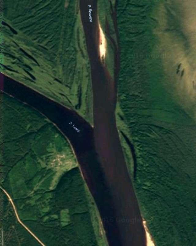 Кама впадает в Вишеру