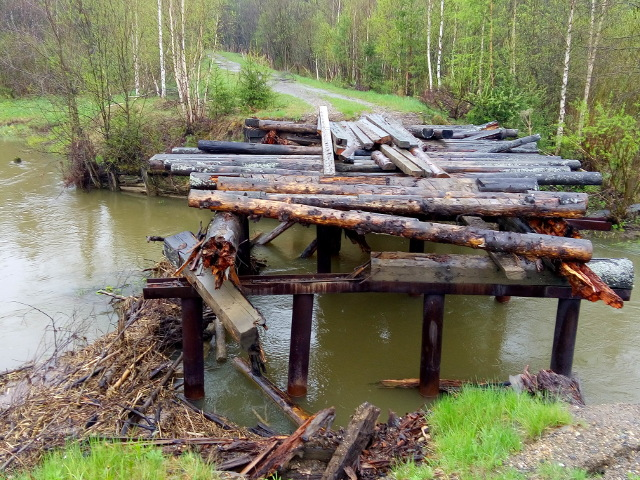 Старый мост близ Ревделя-