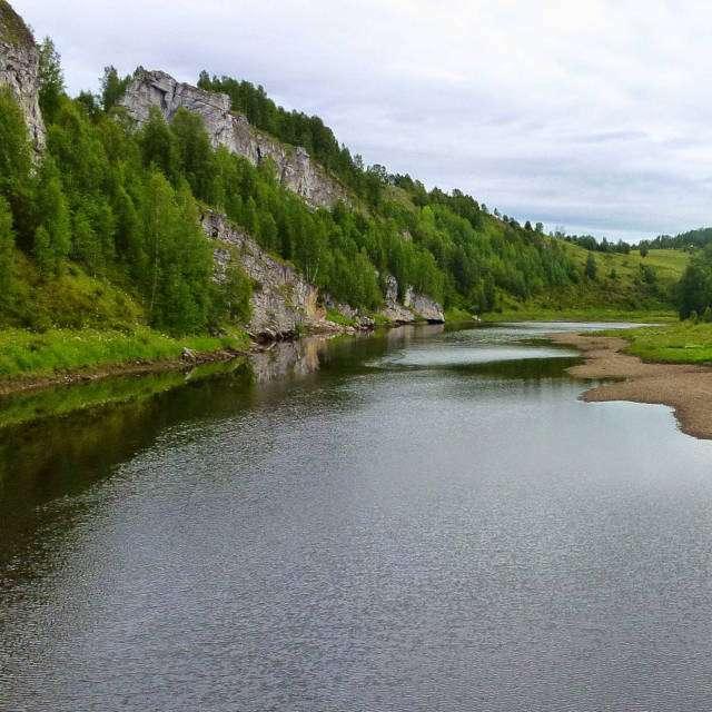река Косьва