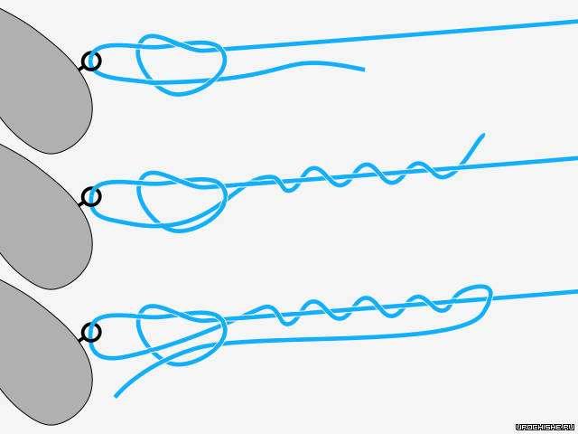 Как привязать мормышку С ушком и без