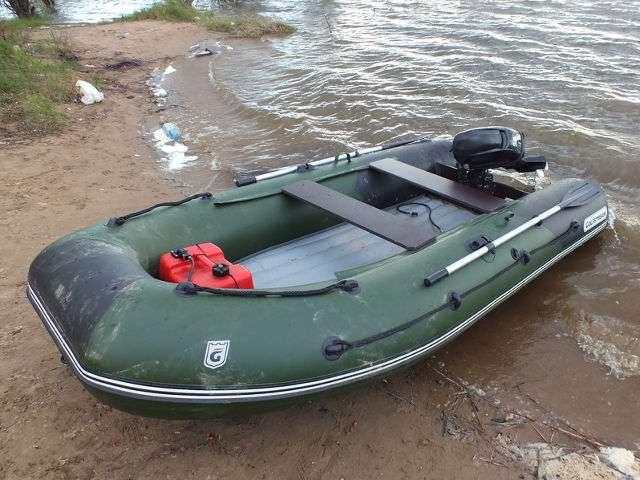 лодка с надувным дном