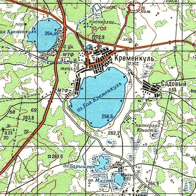 Большой Кременкуль- карта
