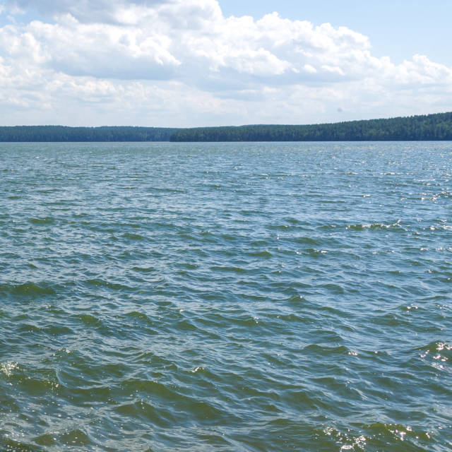 озеро Малое Миассово