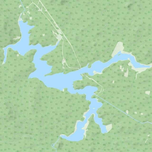 Долгобродское водохранилище- карта