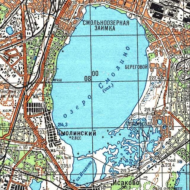 Смолино- карта