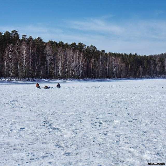 водохранилище- место ловли карася зимой
